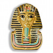Small decorative statue of a Pharaoh — Stock Photo