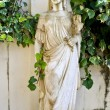 Ancient classic Greek statue showing Goddess Artemis — Stock Photo