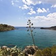 Antoni Queen bay at Rhodes island, Greece — Stock Photo