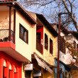 Traditionally build houses at Thessaloniki, Greece — Stock Photo