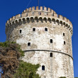 White tower at Thessaloniki city in Greece — Stock Photo