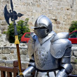 Decorative knight at Rhodes island, Greece - Stock Photo