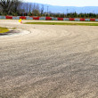 Speedway used for drift races - Stock Photo