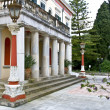 Mon Repo palace at Corfu, Greece — Stock Photo