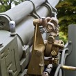 Old second world war artillery weapon — Stock Photo