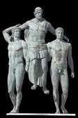 Diagoras, griekse klassieke tijdperk standbeeld — Stockfoto