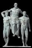 Port lotniczy rodos, statua greckich epoki klasycznej — Zdjęcie stockowe