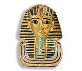 Piccola statua decorativa di un faraone — Foto Stock