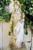 Ancient classic Greek statue showing Goddess Artemis — Stock Photo