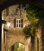 Medieval city of Rhodes in Greece — Stock Photo