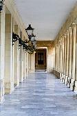 Korfu, Yunanistan'ın İngiliz sarayında ayrıntı görünümü — Stok fotoğraf