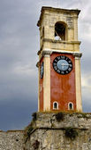 Campanile at Corfu, Greece (near by the old fortress) — Stock Photo