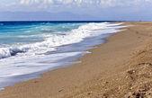 Playa de la isla de rodas en grecia — Foto de Stock
