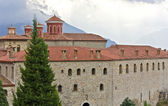 Monasterio en meteora, kalambaka en grecia — Foto de Stock