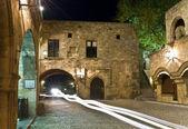 Middeleeuwse stad van rhodos in griekenland — Stockfoto