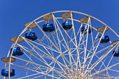 Magic park with a ferris wheel — Stock Photo