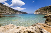 Antoni queen beach rodos adası yunanistan — Stok fotoğraf
