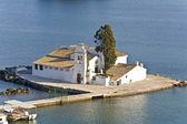 Pontikonisi område på ön korfu, grekland — Stockfoto