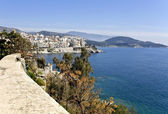 Old city of Kavala in Greece — Stock Photo