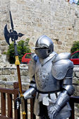 Decorative knight at Rhodes island, Greece — Stock Photo