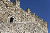 Castle at Kavala city in Greece — Stock Photo