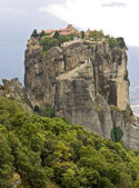 Monastery at Meteora near Kalambaka in Greece — Stockfoto