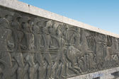 Great Alexander monument at Thessaloniki in Greece — Stock Photo
