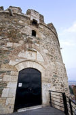 Old byzantine fortress at Thessaloniki city in Greece — Stock Photo