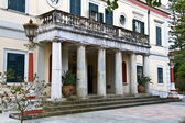 Mon Repo palace in Corfu island, Greece — Stock Photo
