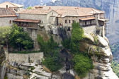 Monastero ortodosso, a kalambaka, grecia — Foto Stock