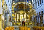 Griechisch-orthodoxe kirche-innenraum — Stockfoto