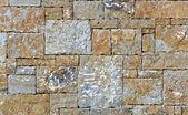 Stone fence wall texture — Stock Photo