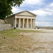 Stock Photo: Ancient alike greek temple at Corfu island in Greece