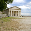 Ancient alike greek temple at Corfu island in Greece — Stock Photo #13350958