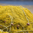 Detail image of a traditional fishing net — Stock Photo #13351748