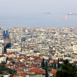 Thessaloniki city at North Greece - Stock Photo