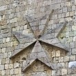 Medieval wall detail image — Stock Photo