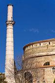Rotonda of Galerius (palace) at Thessaloniki, Greece — Foto de Stock