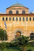 Byzantine orthodox church at Thessaloniki, Greece — Stock Photo