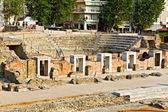 Antigo teatro na cidade de salónica, na grécia — Foto Stock