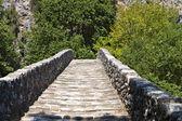 Alte steinbrücke in mittelgriechenland — Stockfoto