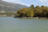 View of Ioannina city in Greece — Stock Photo
