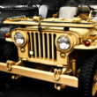Collectible old ww2 jeep vehicle — Stockfoto