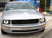 Sports car dealer shop — Stock Photo