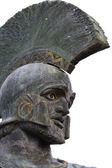 Leonidas statue at Sparta city in Greece — Stock Photo