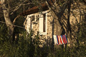 Akontisma village in Greece — Stock Photo