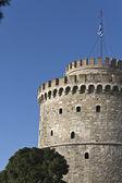 Tour blanche à la ville de thessalonique en grèce — Photo