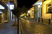 Old stone streets of Komotini at Greece — Stock Photo