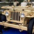 Stock Photo: Collectible old ww2 jeep vehicle