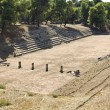 Ancient Epidaurus in Greece. The Stadium. — Stock Photo